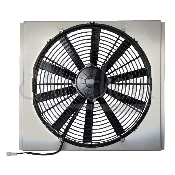 "Z40073 NORTHERN 16"" ELECTRIC MAX FAN  & SHROUD COMBO - 18 1/4 X 17 X 4 1/4"