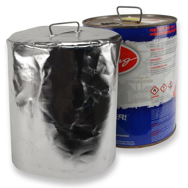 DEI Reflective Fuel Can Cover 5 Gallon Round Metal Can