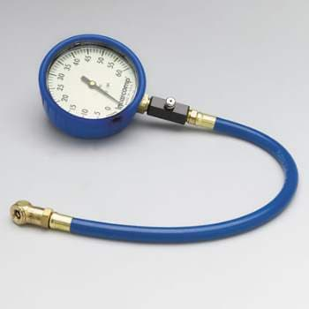 "INTERCOMP ULTRA DELUXE GLOW 4"" TIRE PRESSURE GAUGE"