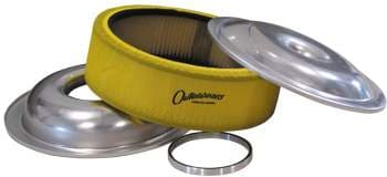 "CTS Lightweight 14"" Aluminum Air Cleaner Kits With Paper Element And 1"" Sure Seal KIT COMBO"