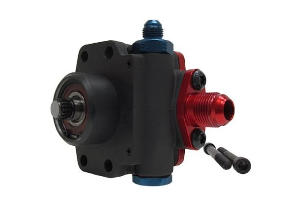 KRC Shaft Drive Dirt Late Model Power Steering Pump 9.6CC 17-SPLINE SHAFT DRIVE PRO SERIES PUMP