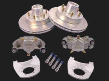 TRAILER DISC BRAKE CONVERSION 2 AXLE KIT