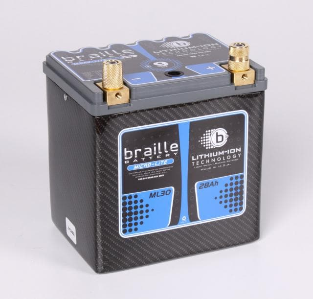 ML30C Braille Micro-lite Lithium Battery