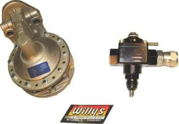 WILLY'S BLUE PRINTED Fuel Pump and Regulator Kit