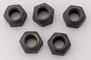 "CTS STEEL LUG NUTS 1"" HEX"