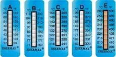 Racetech Temp-A Strip-Thermax 8 Level Temperature Indicator Strips
