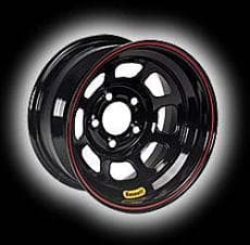 BASSETT D-HOLE LIGHTWEIGHT WHEELS 50SC5 15X10 D-Hole Lite 5 on 4.75-5 Inch Backspace