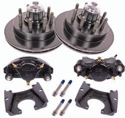 Disc Brake Conversion for 8000 Axles, 1, 2 or 3 axle trailers