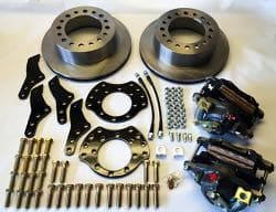 EGR REAR DISC BRAKE CONVERSION KITS for 2000-2001.5 Dodge Ram Trucks Dana 70 & 80-SRW