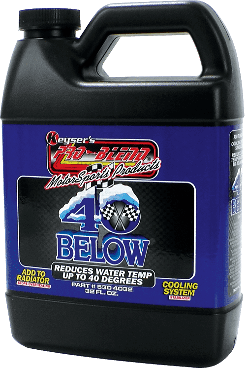 40 BELOW ANTIFREEZE-COOLANT ADDITIVE