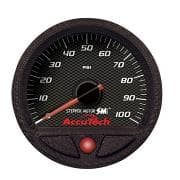 Longacre AccuTech SMi Oil Pressure Gauge - 0-100 psi — 46540