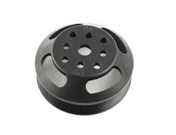 PSC 5.0 diameter serpentine SBC WP pulley (short water pump)