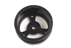 PSC 5.0 diameter serpentine SBC crank pulley (short water pump)