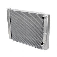 AFCO 80100NDP GM Double Pass Racing Radiator-22 Inch Wide, 19 Inch Tall