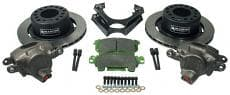 DISC BRAKE KIT GM 10BOLT W/METRIC BRACKETS and Calipers