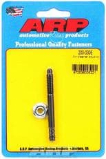 ARP Air Cleaner Stud, 1/4-20 in Thread, 2.700 in Long, Chromoly, Black Oxide, Each