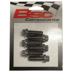 BERT FLYWHEEL BOLT KIT 6pc 12pt 7/16-20 by 1.00""