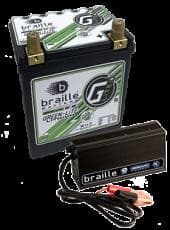 BRAILLE G30 Lithium Ion Battery  with 6 amp lithium Charger-COMBO