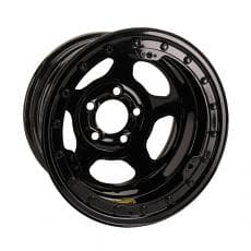 Bassett 59A52L 15 x 9 Inertia Black Beadlock Wheel, 5 on 5 Inch BP