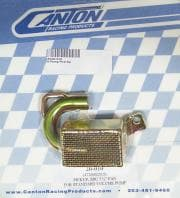 "CANTON Oil Pump Pickup, Street-Strip, Road Race, Press-On, .625"" Inlet Tube, 7.50"" Deep Pan, Small Block Chevy"