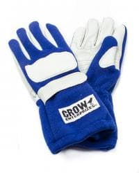 CROW WINGS LONG GAUNTLET NOMEX DRIVING GLOVES-CLOSE OUT
