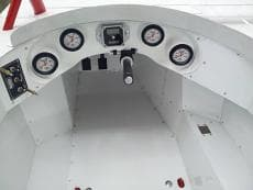 CTS FIBERGLASS LATE MODEL AND MODIFIED GAUGE PANEL, DASH PANEL