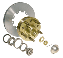 CTS Camaro Sportsman Brake Rotor and Billet Wheel Hub Kit