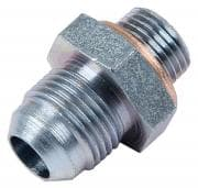 Carter Replacement Fuel Pump Outlet Fitting with Crush Washer -06 AN Pump (5/8-18)  -08 AN Outlet (CLONE)