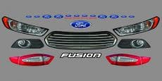 ARP Body Nose Graphic Kits - Ford Fusion - 2006