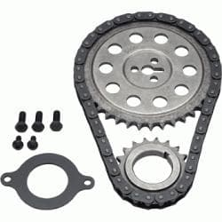 "GM Crate 604 Small Block Chevy Timing Chain Kit For 1987 And Newer Engines With OEM Roller Cam ""Single Roller Design""-12371043"