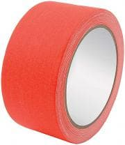 CTS Gaffers Tape, 45 ft Long, 2 in Wide, Fluorescent Orange,