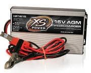 XS Power Batteries 16V High Frequency AGM IntelliCharger, 15A