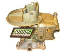 Willy's HP 500 E-98 Ethanol Carburetors