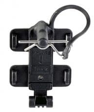 MYLAPS SPORTS TIMING Transponder Mount, Quick Release, Plastic, Black, Clip Mount