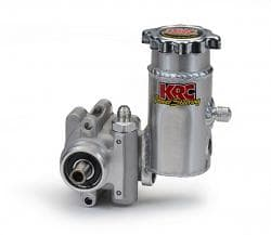 KRC Elite Series Power Steering Pump with Bolt on Aluminum Tank