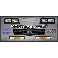 Monte Carlo, 1981-1988 Nose Decal ID Kit