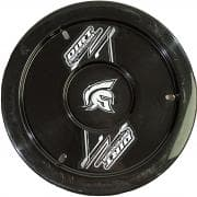 DIRT DEFENDER WHEEL COVERS-Mud Cover, Gen II, Bolt-On, Hardware Included, Cover Only, Plastic, 15 in Wheels, Each