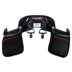 Necksgen REV2 Lite Head & Neck Restraint System- SFI-38.1, Carbon Fiber-LARGE