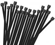 CTS ZIP TIES-Cable Ties, Zip Ties, 14-1/4 in Long, Nylon, Set of 100