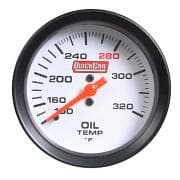 QuickCar Extreme Oil Temp Gauge- Color Changing Gauges