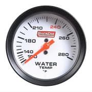 QuickCar Extreme Water Temp Gauge- Color Changing Gauges
