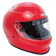 RACEQUIP Helmet, Pro20, Full Face, Snell SA 2020, Head and Neck Support Ready -CORSA RED
