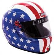 RACEQUIP Helmet, Pro20, Full Face, Snell SA 2020, Head and Neck Support Ready-AMAERICA
