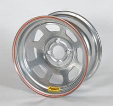 "BASSETT 4- & 5 BOLT D-HOLE LIGHTWEIGHT WHEELS, 14X7"" & 14X8"""