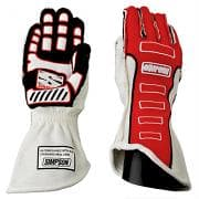 SIMPSON Gloves, Competitor, Driving, SFI 3.3/5, FIA Approved, Double Layer, Nomex