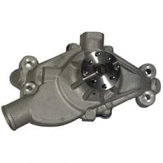 "Stewart Stage II  Alum SBC Water Pump 5.625"" Short Style 3/4"" Bearing 3/4"" Shaft-fits Crate Motors"