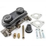 STRANGE Master Cylinder, 1-1/8 in Bore, Manual Conversion, Aluminum, Natural, Ford Mustang 1979-93, Kit