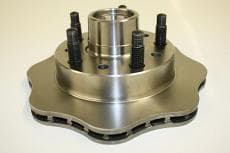 CTS Scalloped Metric Front Hub-Rotor
