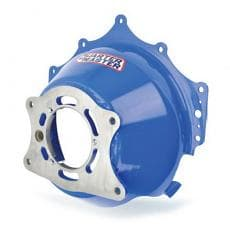 "Quarter Master Steel, Chevy Block Mount Starter Bellhousing for 5.5"" & 7.25"" Clutches"