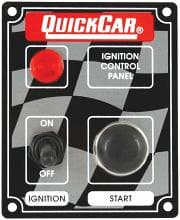 QUICKCAR IGNITION CONTROL PANELS-W/ LITE